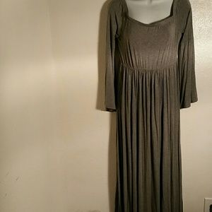 Torrid Gray Maxi Dress. O